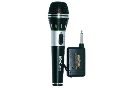 Wireless & Wired Microphone + Receiver