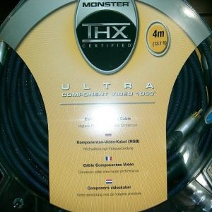 Monster Component Video Cables 4M