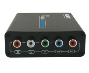 HDMI to Component Video+Stereo Audio Converter