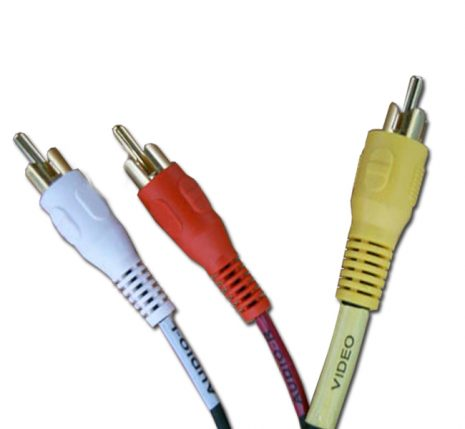 Cable 3RCA to 3RCA A/V Cable 6ft