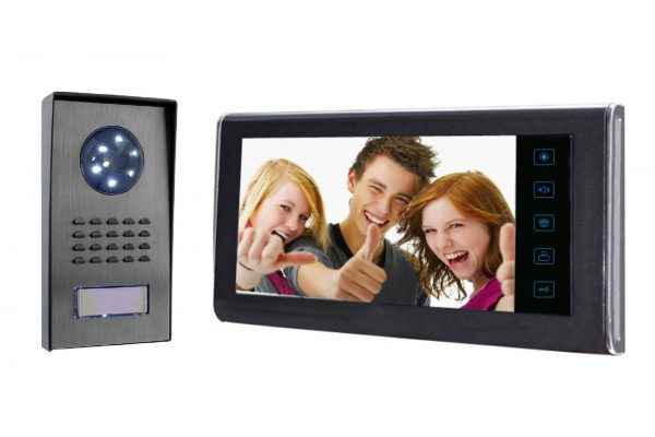 Color LCD Video Intercom System 7 inches