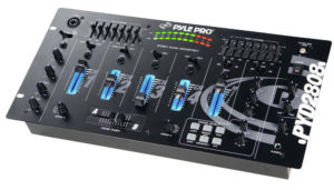 19'' Rack Mount 4 Channel Professional Mixer with Digital Echo and SFX