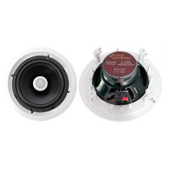 300 Watts 8'' Two-Way In-Ceiling Speaker System (Pair)