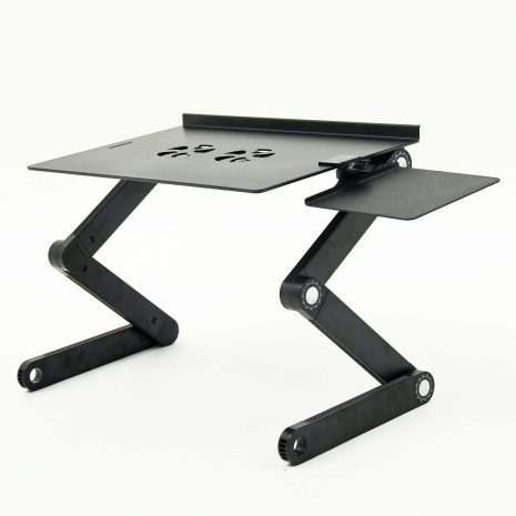 Folding Laptop Stand with USB fans and mouse pad