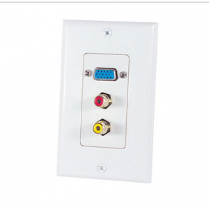 Home Theater Wall Plate