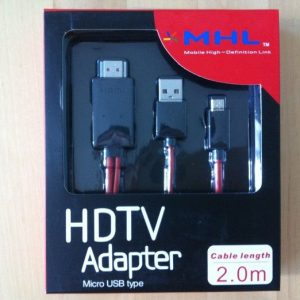 Mobile High-Definition Link HDTV Adapter