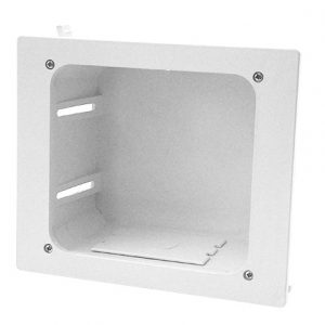 CON1001 - Construct Pro™ In-Wall Recessed Entertainment Box, WHITE
