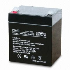 Q Power Sealed Lead Acid Battery 12V 4Ah