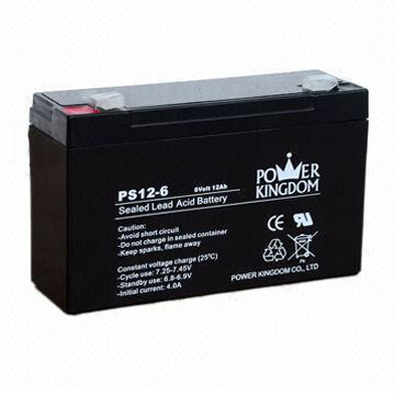 Q Power Sealed Lead acid Battery 12V 6Ah