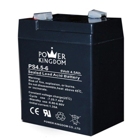 Power Kingdom PS4.5-6 Sealed Lead Acid - AGM - VRLA Battery