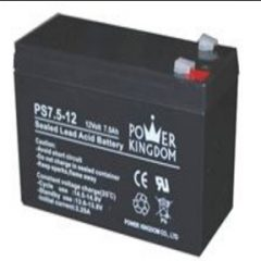 Power Kingdom PS7.5-12 Sealed Lead Acid Battery - AGM