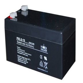 Power Kingdom Sealed Lead Acid Battery 12V 3.2Ah - AGM