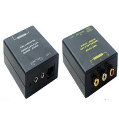 3 RCA AV & IR over CAT5e Cable Extender Balun 300m
