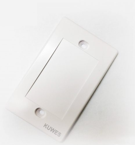 Wall Plate Blank - White