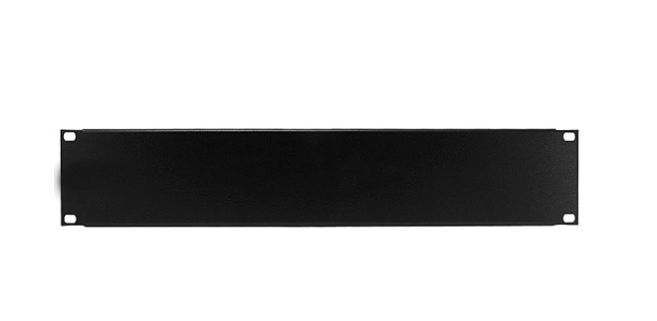 2u 19 Inches Solid Rack Mount Blank Panel Plate Rtc