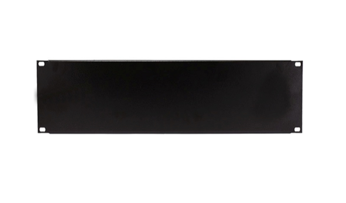 3u 19 Inches Solid Rack Mount Blank Panel Plate Rtc