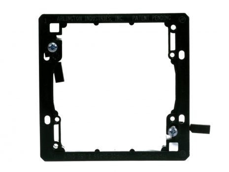 DUAL GANG LOW VOLTAGE MOUNTING BRACKET