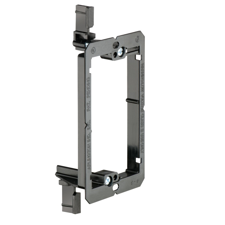 Single Gang Low Voltage Mounting Bracket For New Dry Wall