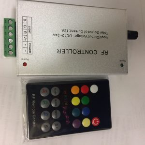 RF CONTROLLER WITH MUSIC 12AMPS 12/24V