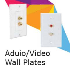 Audio/Video Wall Plates