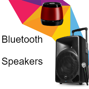 Bluetooth Portable Speakers
