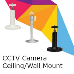 CCTV Camera Wall/Ceiling Mounts