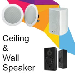 Ceiling & Wall Speakers