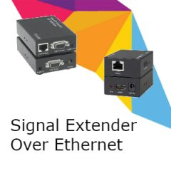 Signal Extenders over LAN