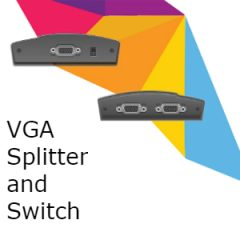 VGA Splitters & Switches