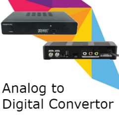 Digital to Analog convertors