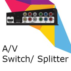 A/V Splitters & Switches