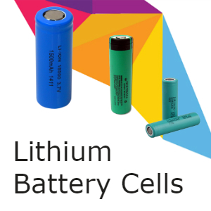 Lithium Battery Cells & Chargers