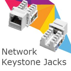 Network Keystone Jacks