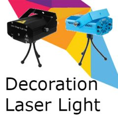 Laser Decoration & Disco Lights