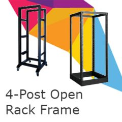 4-Post Open Rack Frame