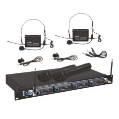 Pyle-Pro PDWM5000-VHF Wireless Rack Mount 5