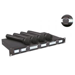 Pyle-Pro PDWM5000-VHF Wireless Rack Mount 3