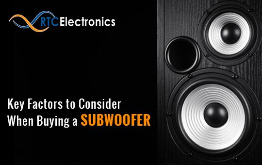 Key Factors to Consider When Buying a Subwoofer 2