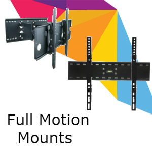 Full Motion TV Wall Mounts