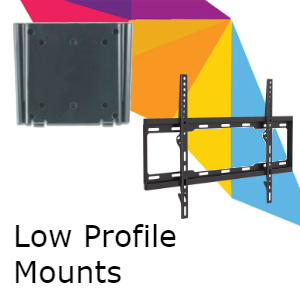 Fixed or Low Profile TV Wall Mounts
